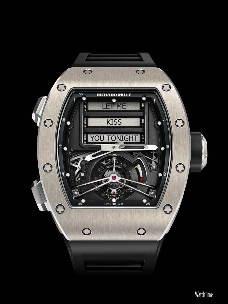 Richard Mille Tourbillon RM 69 front dial 2000 768x1024 - The Love Machine - The RM 69 Erotic Tourbillion