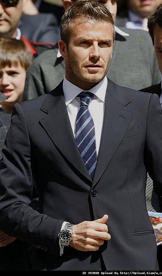 David Beckham rolex