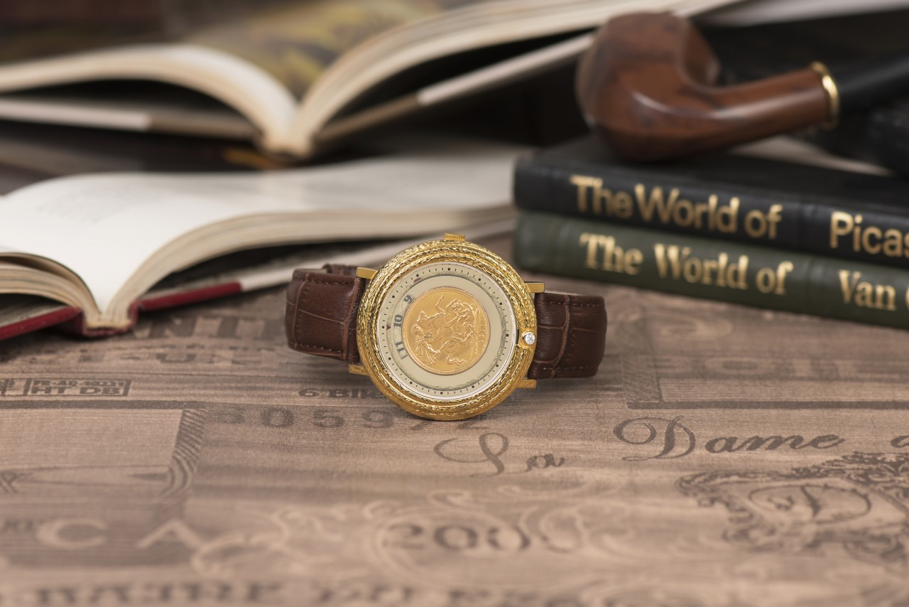 Sovereign Gold Watch by Jaipur Watch Company
