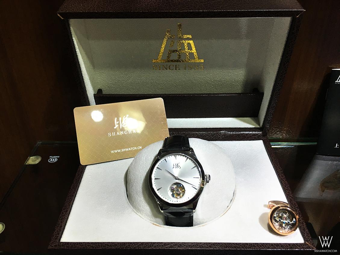 Vishawatch team in Shanghai Watch Company