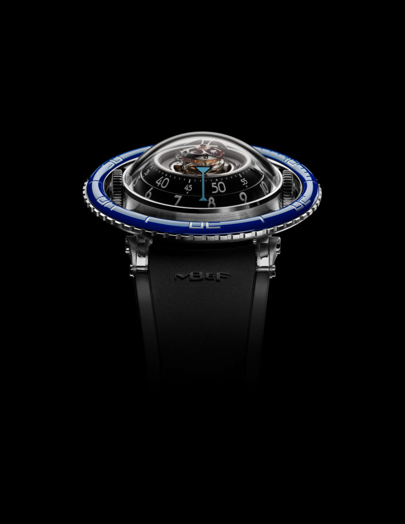 HM7 TiBlue Face Lres 791x1024 - MB&F HM7 Aquapod: The Jellyfish