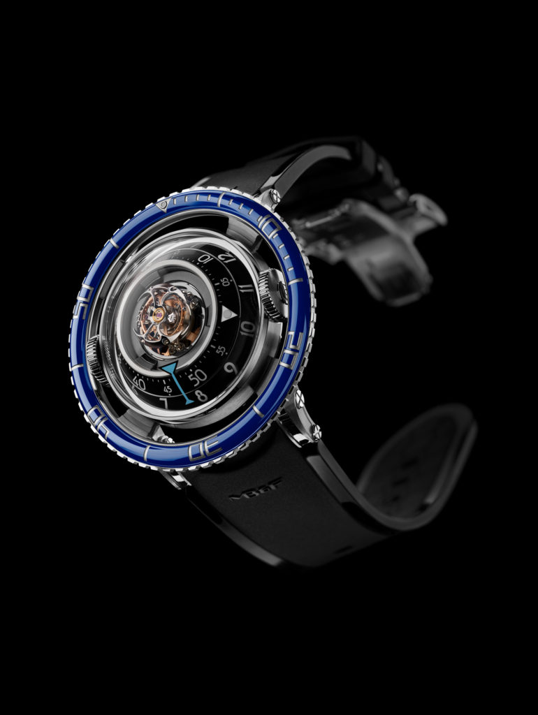 HM7 TiBlue Front Lres 770x1024 - MB&F HM7 Aquapod: The Jellyfish