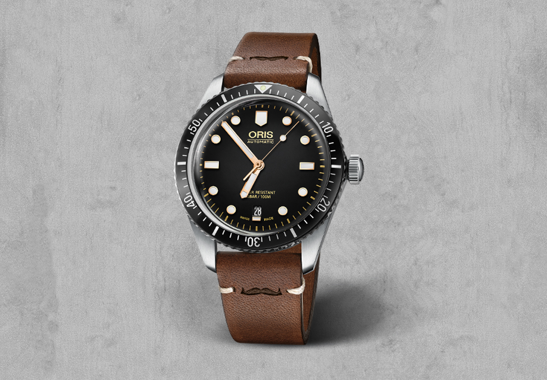 4 1 - Movember just got grander with the Oris Movember Edition by Divers Sixty-Five
