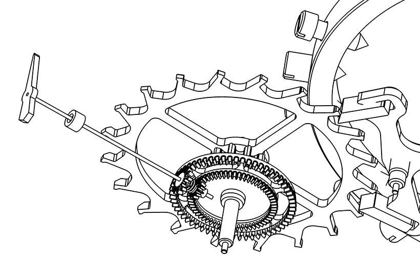 Nano Foudroyante EWT Mechanism 1765 High Res - Watch Mechanism meet Minimalism - The Greubel Forsey Nano Foudroyante EWT