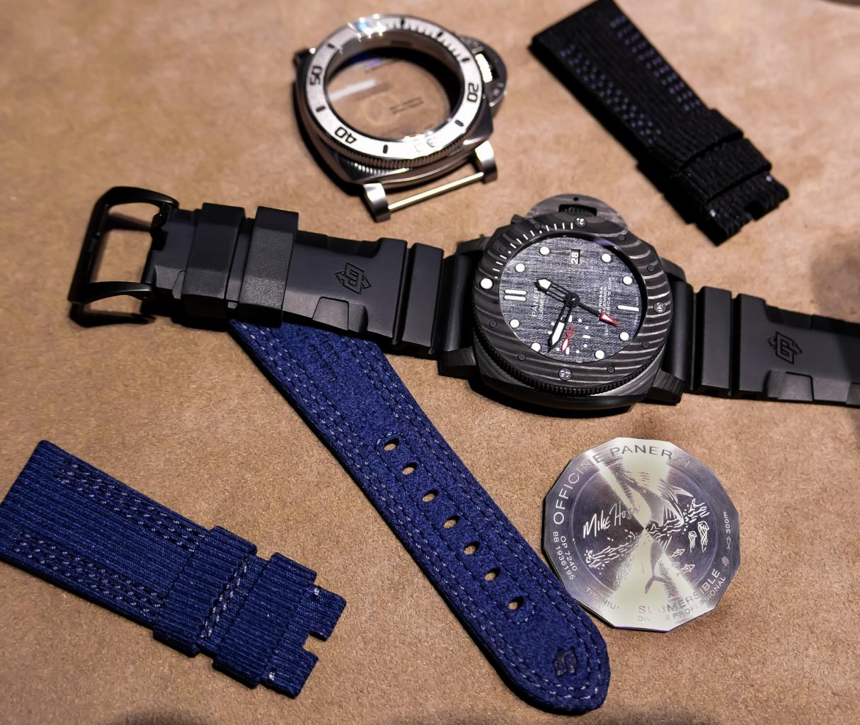 panerai diving bracelet