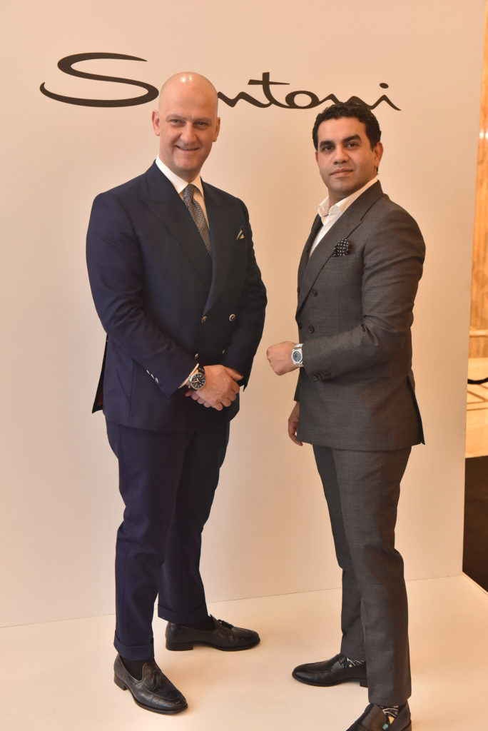 DSC 7578 1 684x1024 - In conversation with Giussepe Santoni : An avid watch collector, traveller and luxury shoemaker