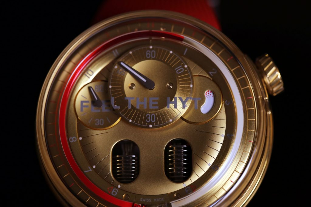 ABHI1036 1024x683 - Watchmaking That Transforms People Is The Future : Gregory Dourde CEO HYT Watches