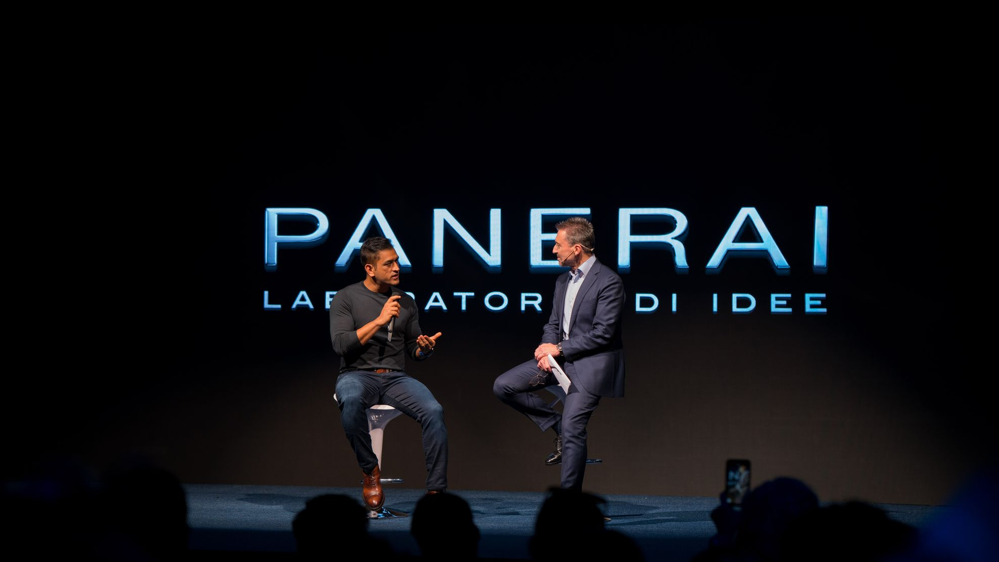 ms dhoni panerai00002 - Panerai plays the helicopter shot with MS Dhoni special edition watches