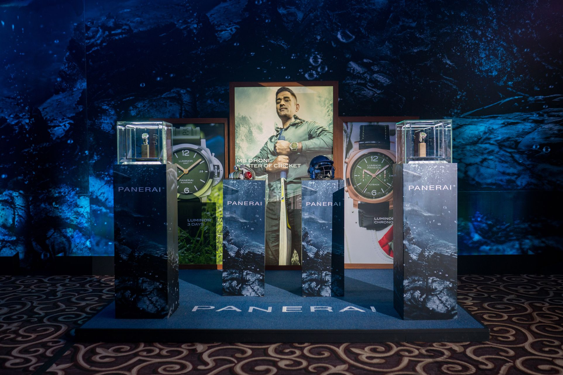 ms dhoni panerai00146 - Panerai plays the helicopter shot with MS Dhoni special edition watches