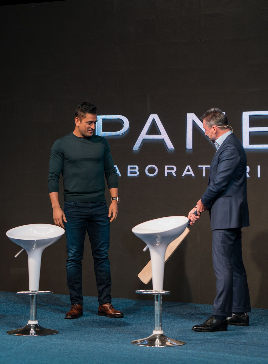ms dhoni panerai00173 - Panerai plays the helicopter shot with MS Dhoni special edition watches