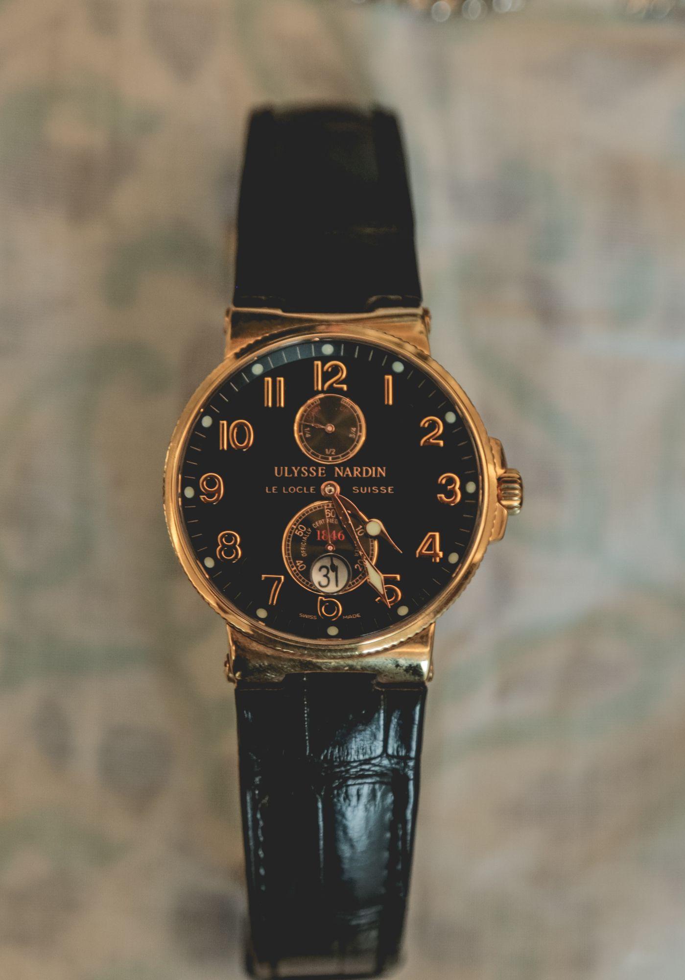 DILJEET TITUS 10 - Talking watches with Diljeet Titus