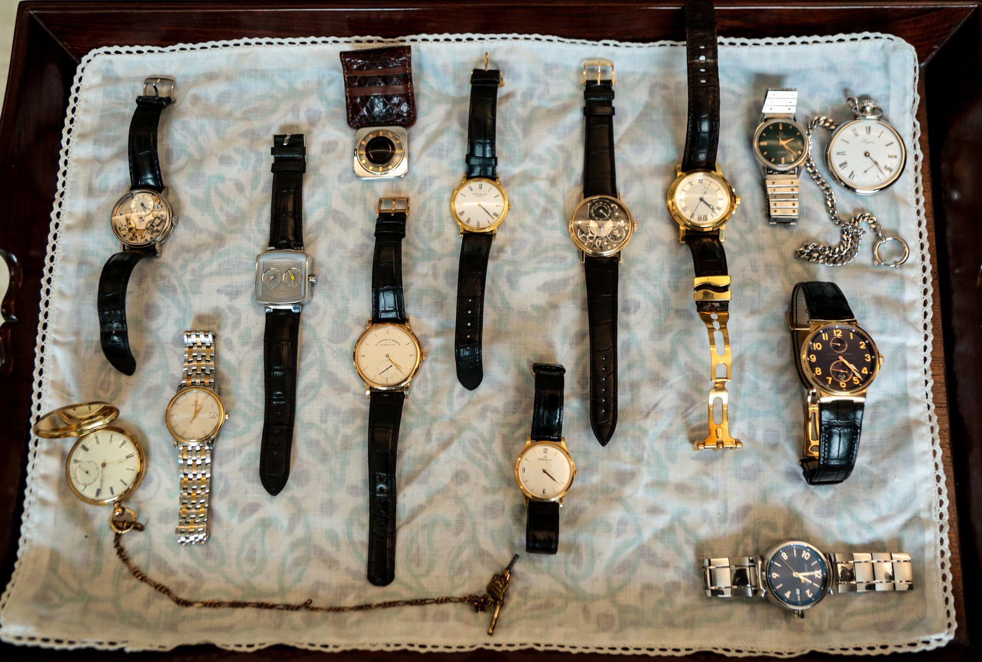 DILJEET TITUS 11 - Talking watches with Diljeet Titus