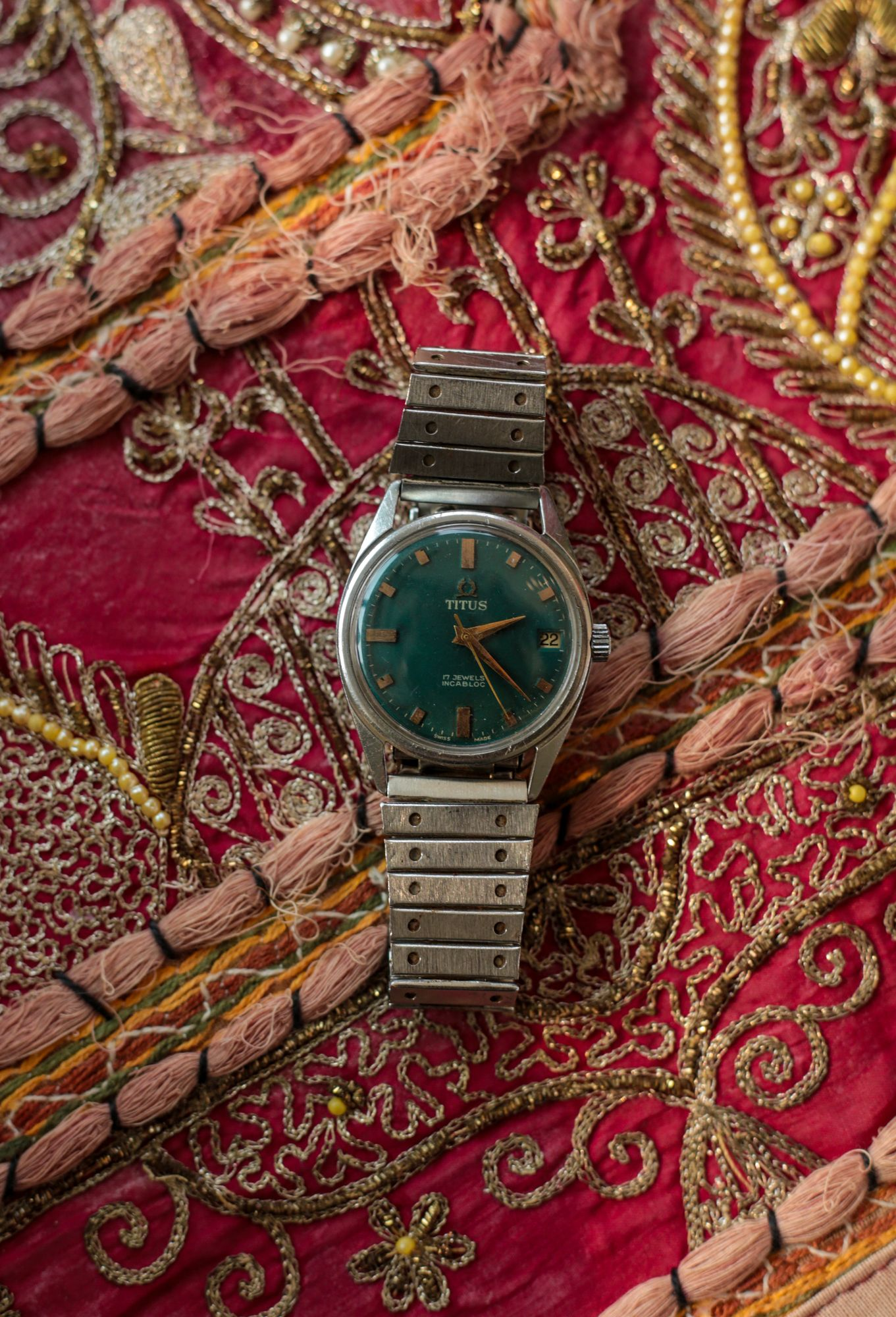 DILJEET TITUS 13 - Talking watches with Diljeet Titus