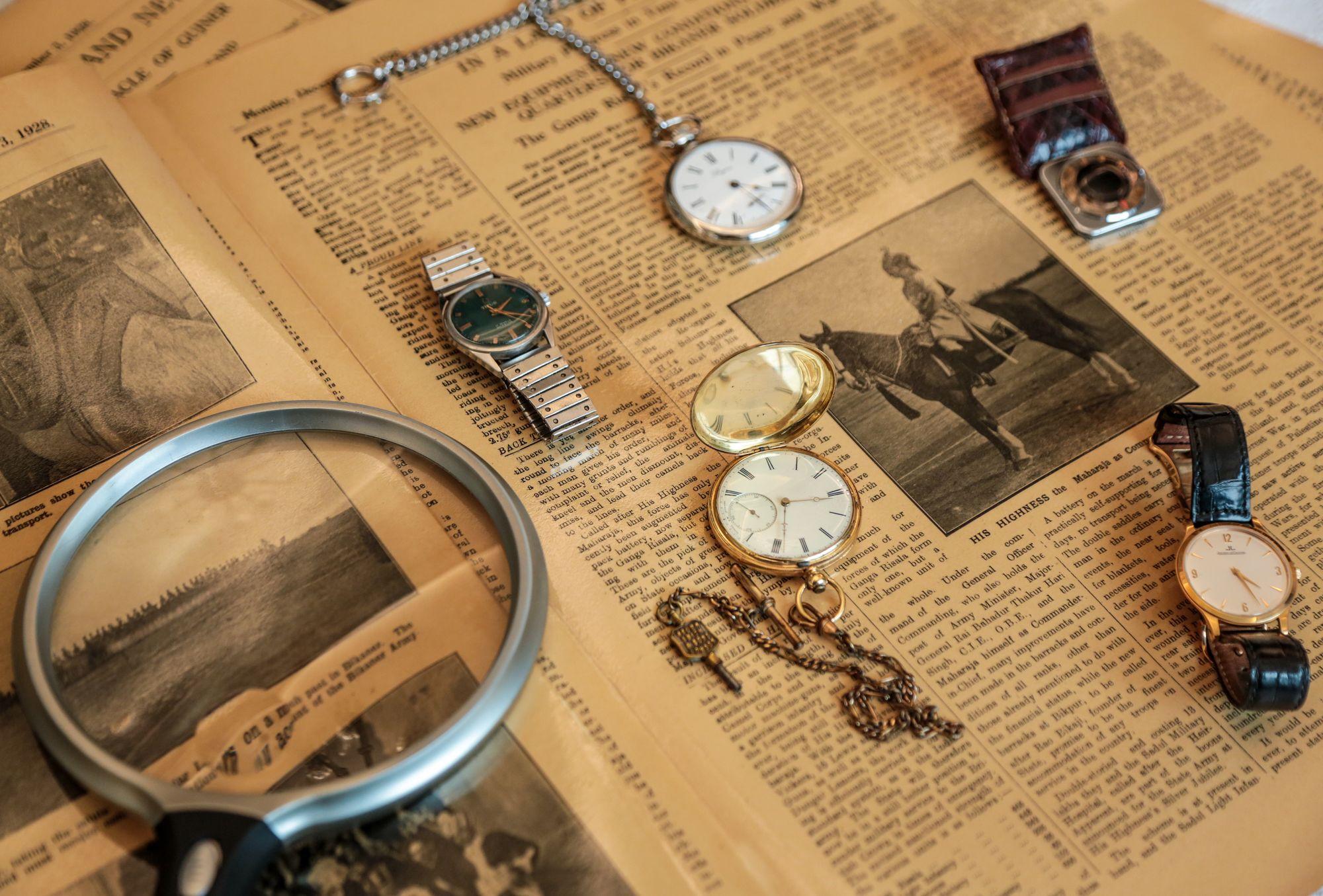 DILJEET TITUS 8  - Talking watches with Diljeet Titus